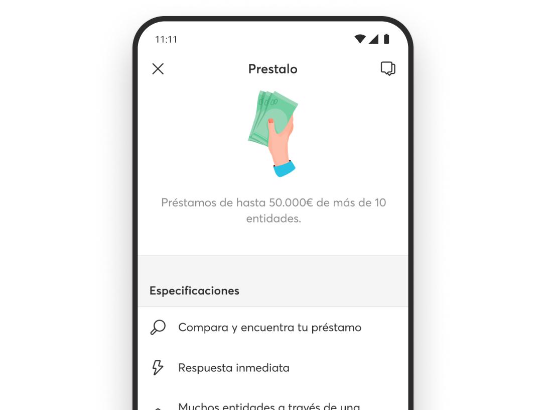 Lo mejor de un préstamo online desde tu app de Bnext