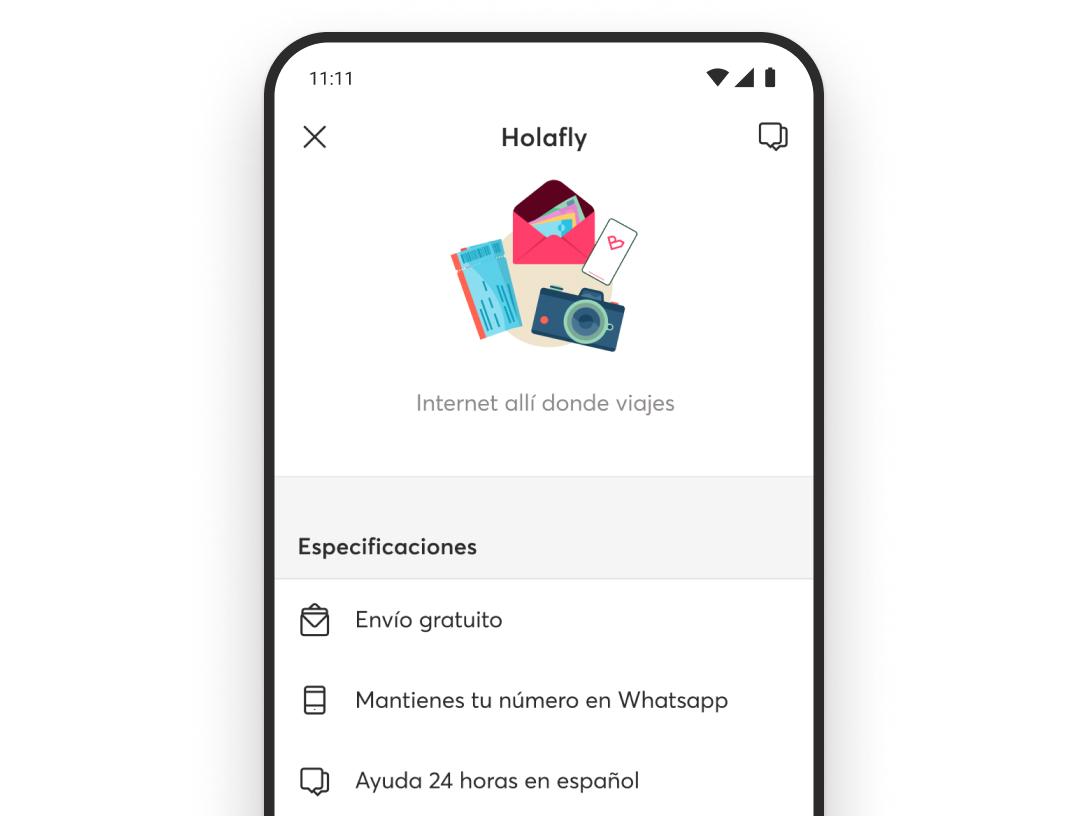 ¿Conseguir una tarjeta de datos prepago en la app de Bnext? Sí, en el Marketplace